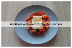Cabillaud aux olives & tomates cerises1v