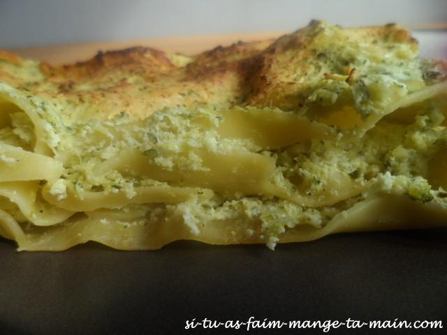lasagne courgette ricotta 2