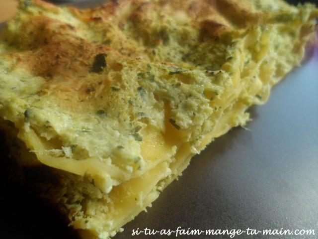 lasagne courgette ricotta 3