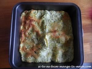 lasagne courgette ricotta
