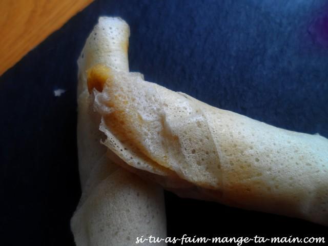 Cigare banane miel & amande