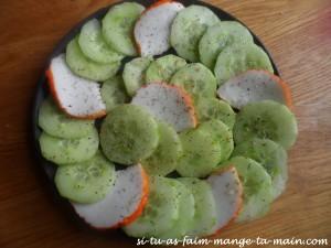 concombre & médaillon de langouste