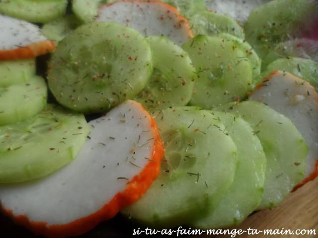 concombre & médaillon de langouste2