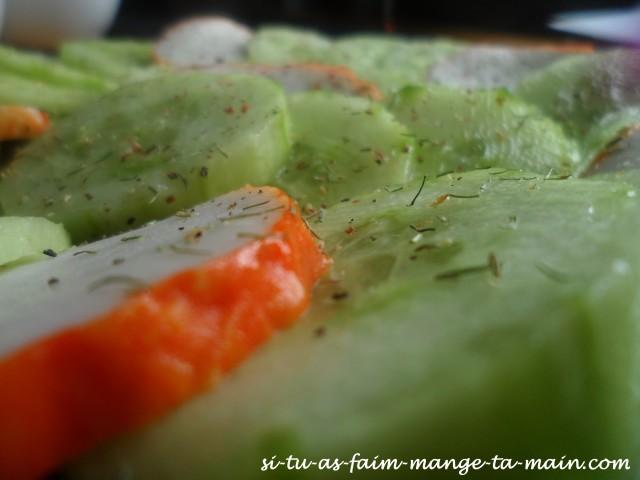 concombre & médaillon de langouste3