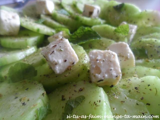 salade concombre féta menthe4
