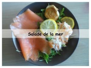 salade de la mer présentation