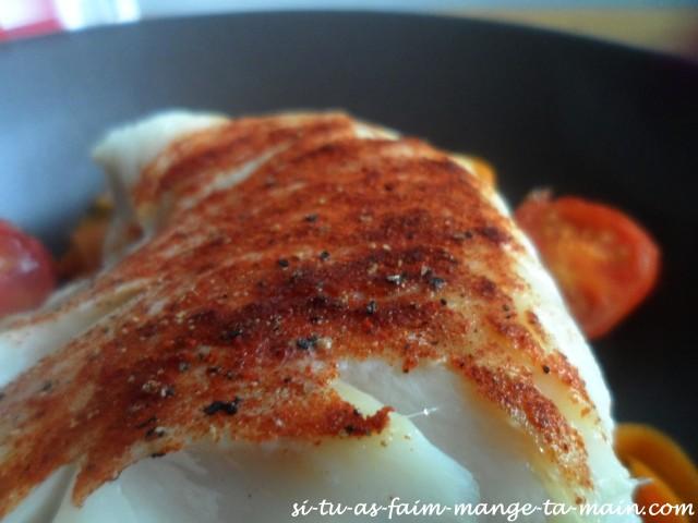 Cabillaud & tagliatelle de carotte au sésame4