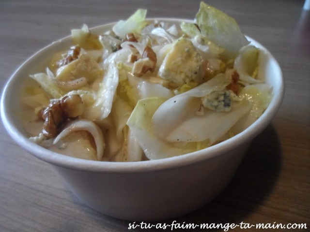 salade endive roquefort et noix5