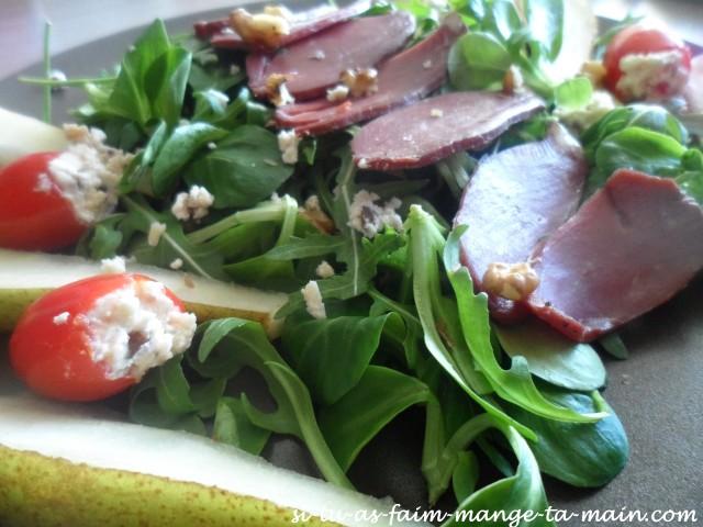 salade magret et poire2