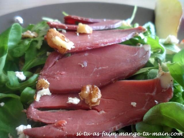 salade magret et poire3