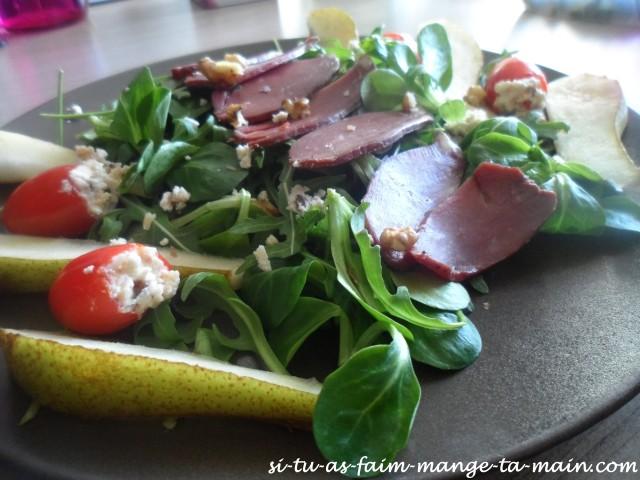 salade magret et poire5