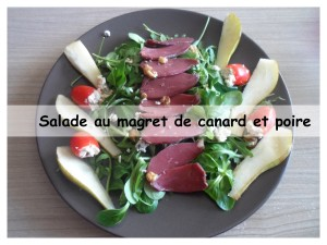 salade magret et poire6