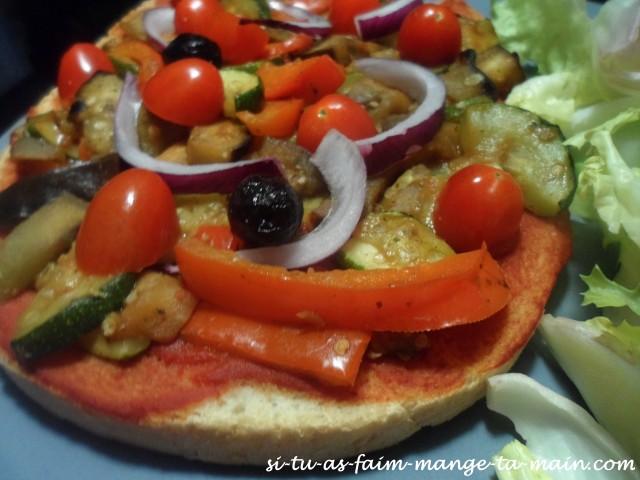 brushetta aux légumes vegan4
