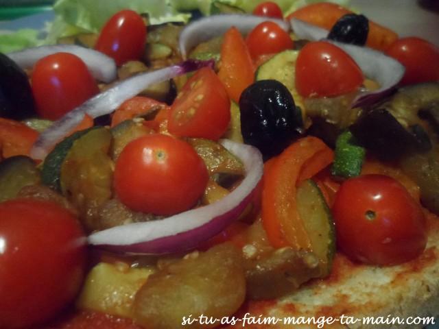 brushetta aux légumes vegan5