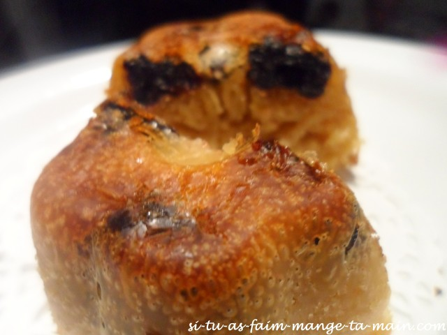 Muffin avoine cerise noire5
