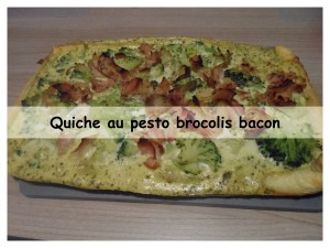 Quiche au pesto brocolis bacon5