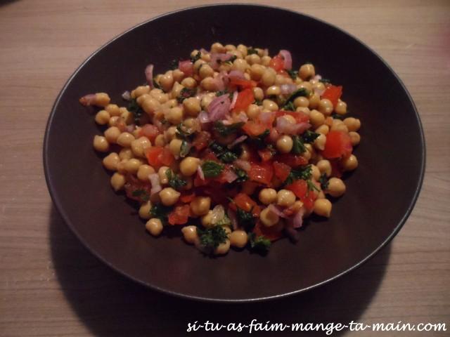 salade de pois chiche persil menthe1