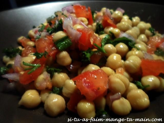 salade de pois chiche persil menthe4