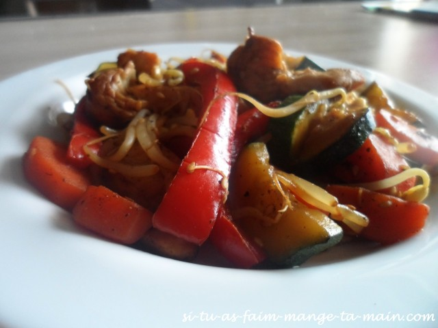 wok de poulet au soja3