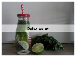 detox water page