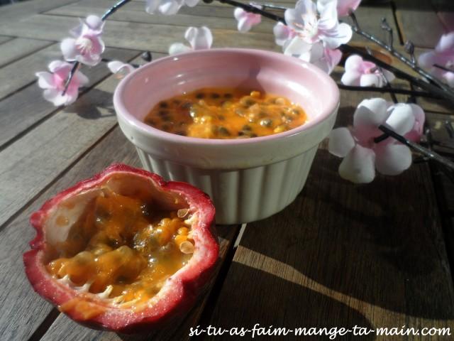Panna cotta light aux fruits de la passion3