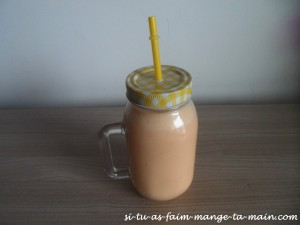 smoothie orange pamplemousse coco