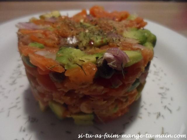 tartare de saumon2