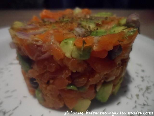 tartare de saumon3