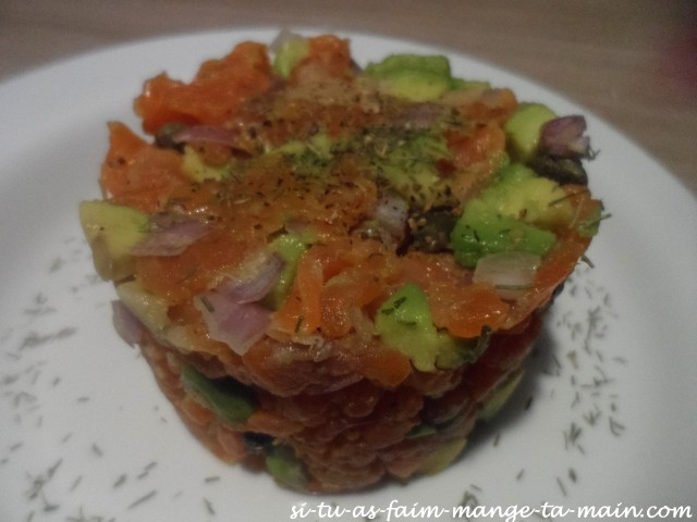 tartare de saumon4