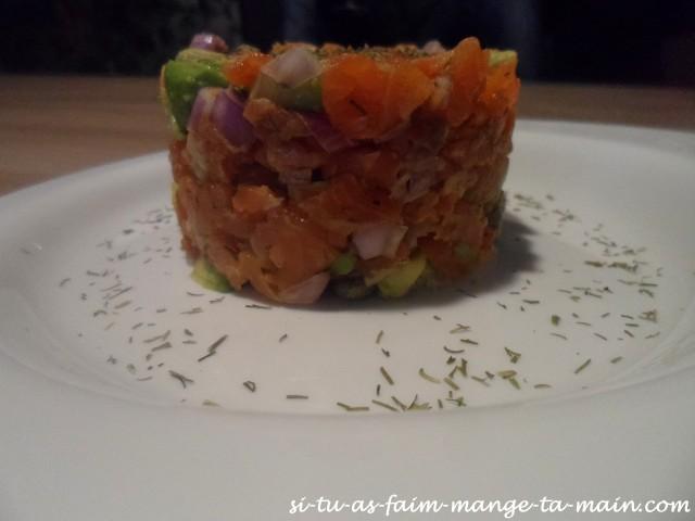 tartare de saumon5
