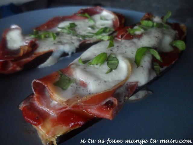 Aubergine façon pizza6