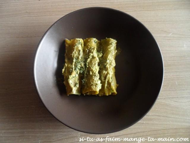 cannelloni ricotta épinard