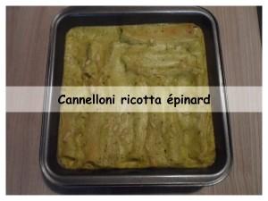 cannelloni ricotta épinard5