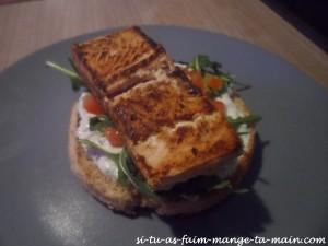 Hamburger au saumon sauce ciboulette2