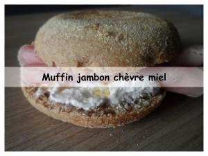 Muffin jambon chèvre miel3