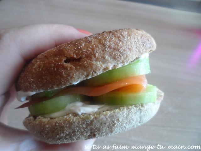 Muffin saumon concombre sauce ciboulette2