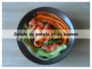 salade au pomelo et au saumon