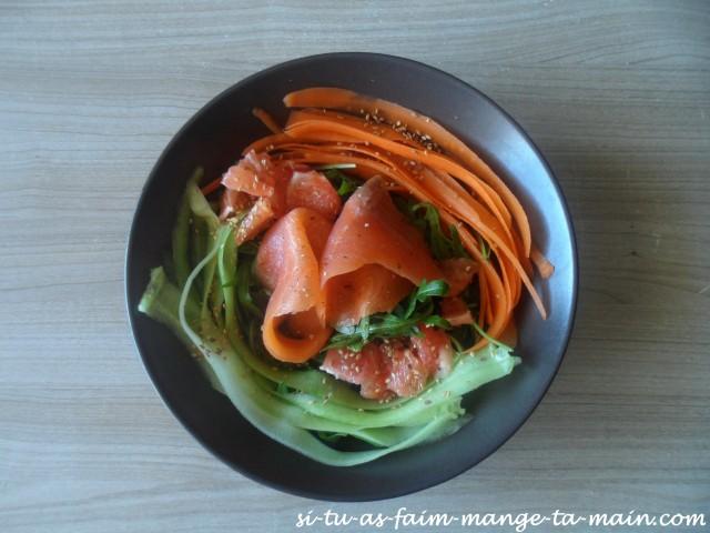 salade au pomelo et au saumon1