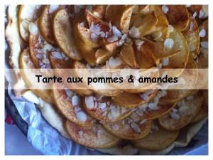 tarte aux pommes & amandes