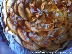 tarte aux pommes & amandes1