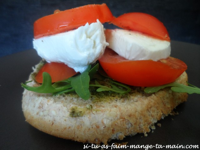 burger végétarien italien1