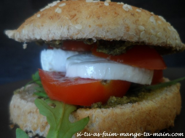 burger végétarien italien2