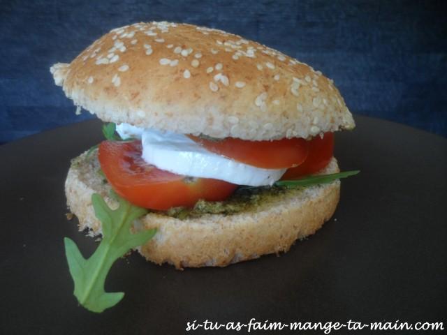 burger végétarien italien3