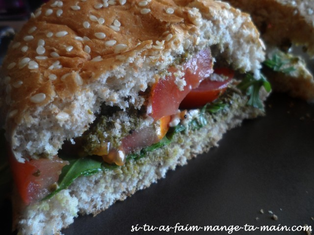 burger végétarien italien4