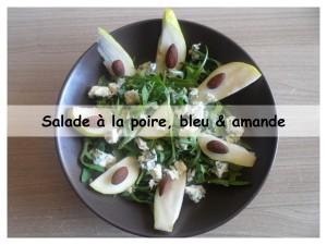 salade à la poire, bleu d'auvergne & amande3