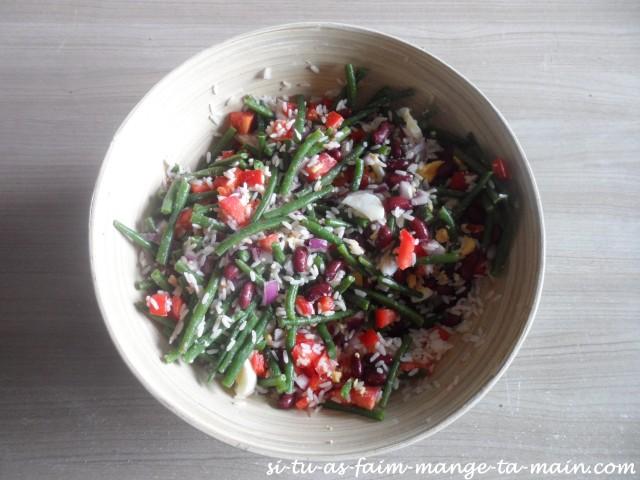salade de riz aux haricots1