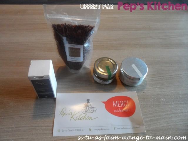 offert par pep's kitchen