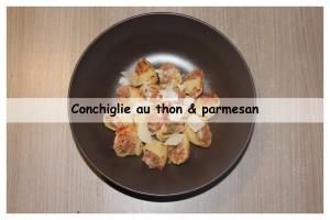 conchiglie au thon & parmesan