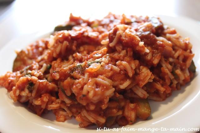 riz aux légumes & parmesan3