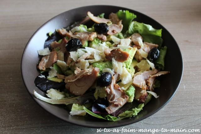 salade avocat poulet parmesan1